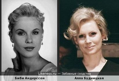 Скандинавская актриса напомнила красавицу Аллу Будницкую