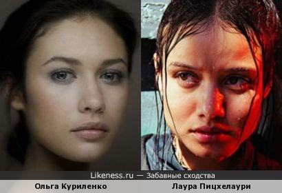 "Лаура Пицхелаури (Лаури) из сериала ""Контора"" часто напоминала мне Ольгу Куриленко"