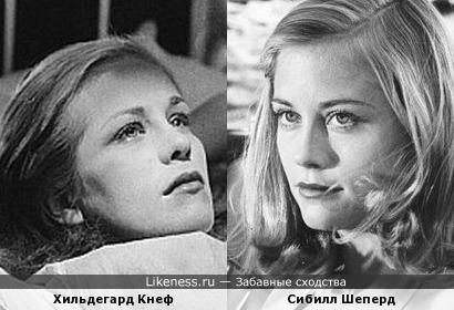 Звезда немецкого кино показалась похожей на Сибилл Шеперд (или Шепард, как кому нравится)