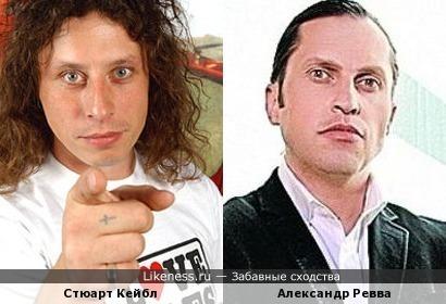 Бывший ударник группы Stereophonics Стюарт Кейбл и Александр Ревва