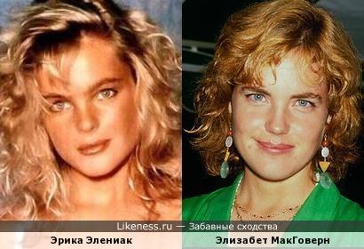 Элизабет МакГоверн - Эрика Элениак