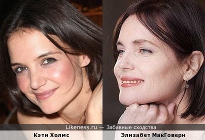 Кэти Холмс - Элизабет МакГоверн