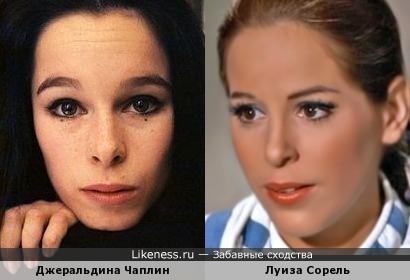 Джеральдина Чаплин - Луиза Сорель