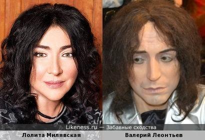 С каждым новым походом в клинику Лолита превращается... превращается Лолита... в |Валерия Леонтьева!