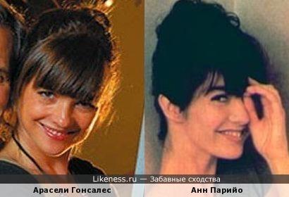 """Анн Парийо (самая первая """"Никита"""") напомнила латино-американку Арасели Гонсалес"""