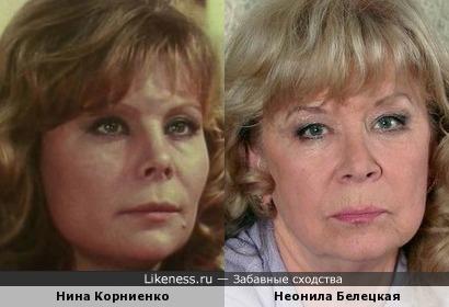 Похожие театрельные актрисы