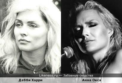 """Итальянская """"Blondie"""" Анна Окса (Anna Oxa)"""