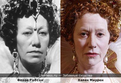 """Королевы Елизаветы I (""""Fire over England"""" 1937 и """"Елизавета I"""" 2005)"""