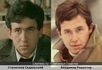 Станислав Садальский и Владимир Рецептер
