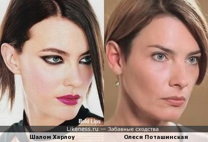 Шалом Харлоу и Олеся Поташинская