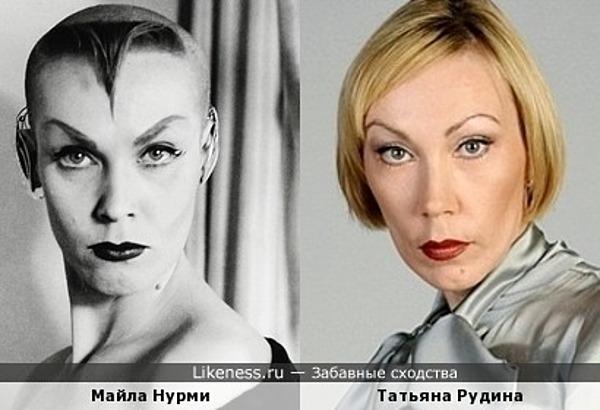 Майла Нурми и Татьяна Рудина