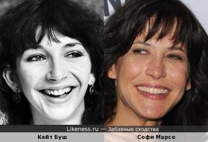 Кейт Буш и Софи Марсо