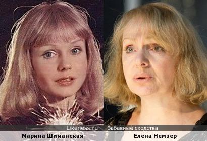 Марина Шиманская и Елена Немзер