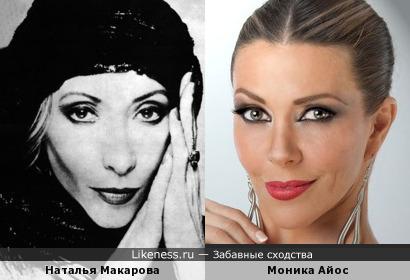 Моника Айос и Наталья Макарова