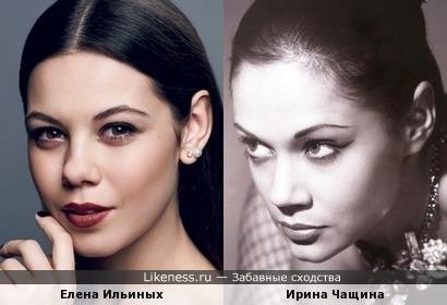 Ирина Чащина и Елена Ильиных: фигуристка и гимнастка
