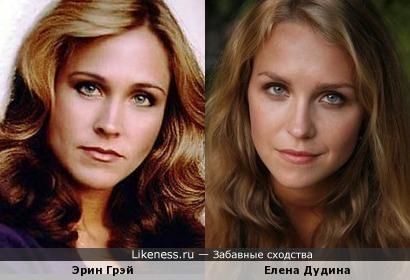 Эрин Грэй и Елена Дудина