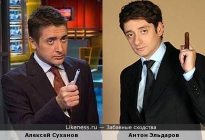 Алексей Суханов и Антон Эльдаров
