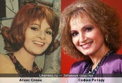 Агнес Спаак, она же Анна Малссон, она же... София Ротару?