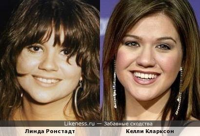 Келли Кларксон и Линда Ронстадт
