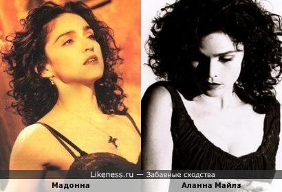 Аланна Майлз Vs Мадонна. «Black Velvet» 1989 Vs «Like a Prayer» 1989
