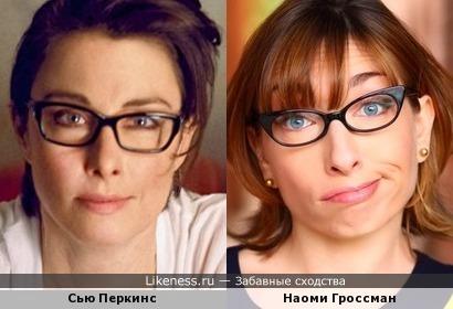Сью Перкинси Наоми Гроссман