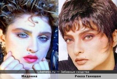 Рекха Ганешан - индийская Мадонна
