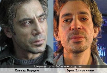 Хавьер Бардем и Эрик Элмоснино
