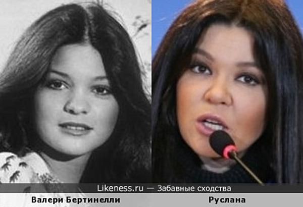 Валери Бертинелли и Руслана