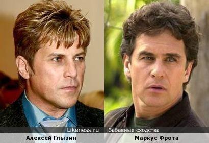 Алексей Глызин напомнил мне бразильского актера, а может наоборот