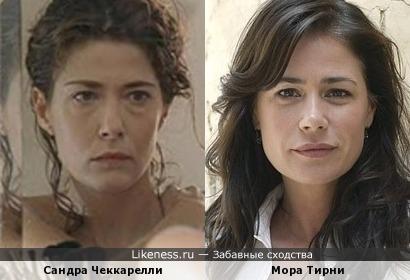 Сандра Чеккарелли и Мора Тирни