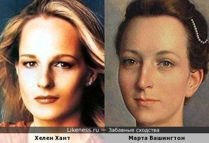 Компьютерная реконструкция портрета жены президента в стиле Хелен Хант