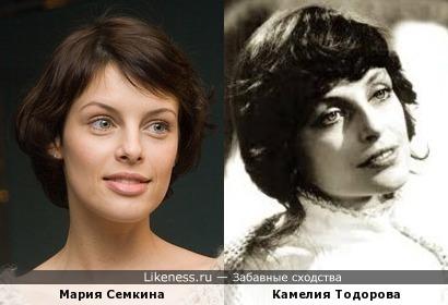 Мария Семкина и Камелия Тодорова