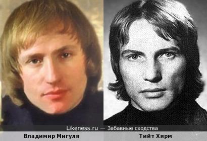 Тийт Хярм и Владимир Мигуля