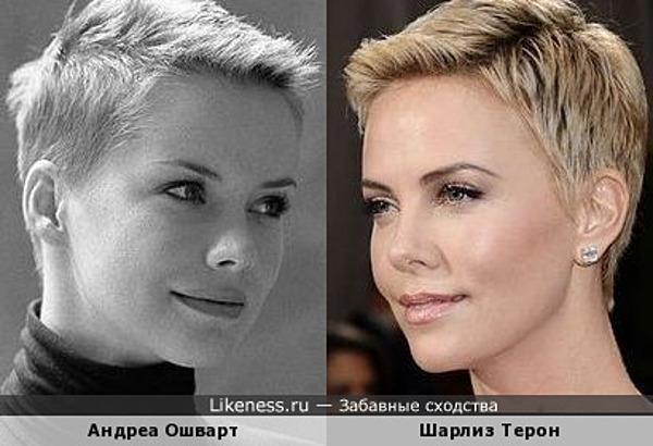 Мне кажется, Андреа знает об этом сходстве :)
