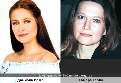 Даниэла Ромо и Тамара Глоба