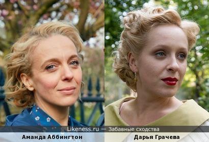 Дарья Грачева и Аманда Аббингтон
