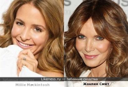 Еще одна актриса показалась похожа на Милли Макинтош