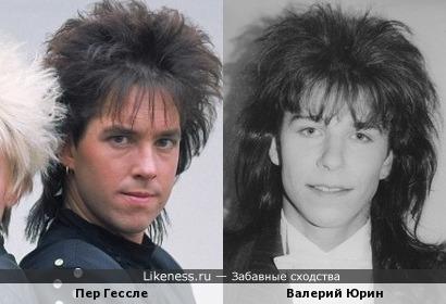 "Валерий Юрин и половинка ""Roxette"""