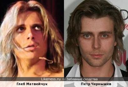 Петр Чернышев и Глеб Матвейчук