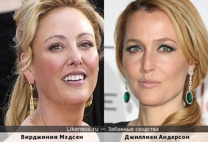 Вирджиния Мэдсен и Джиллиан Андерсон