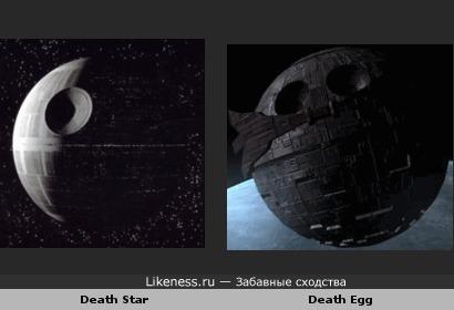 """Death Egg из вселенной Соника похоже на Death Star из """"Звёздных Воин"""""""