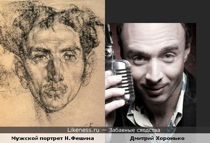 Картина Н.И.Фешина напомнила Дмитрия Хоронько