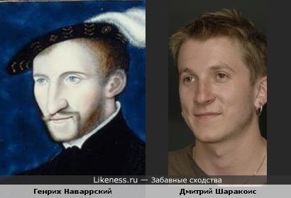 Персонаж картины Корнеля де Лиона похож на Дмитрия Шаракоиса