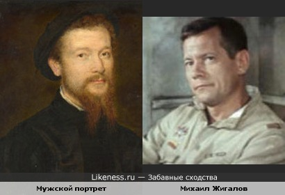 Персонаж картины Корнеля де Лиона похож на Михаила Жигалова