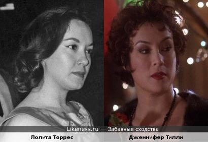 Лолита Торрес напомнила Дженнифер Тилли