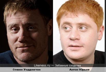 Стивен Уоддингтон похож на Антона Юрьева