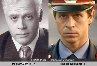 Роберт Дауни мл. в образе Чаплина напомнил Павла Деревянко