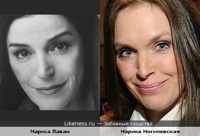 Мариса Паван напомнила Марину Могилевскую