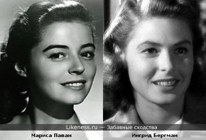Мариса Паван напомнила Ингрид Бергман