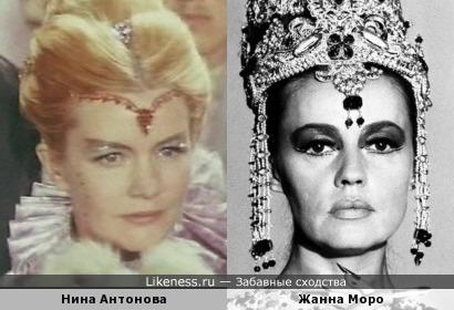 Нина Антонова напомнила Жанну Моро